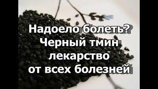 Надоело болеть? Черный тмин лекарство от всех болезней