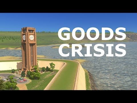 Not Enough Goods to Sell (Cities: Skylines)
