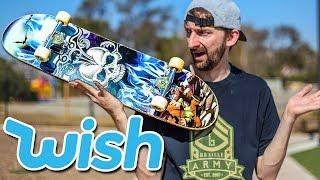 Don't Break the $25 Wish.com board!