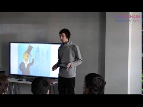 Blockchain Conference Kyiv 2016 - Anatoly Kaplan