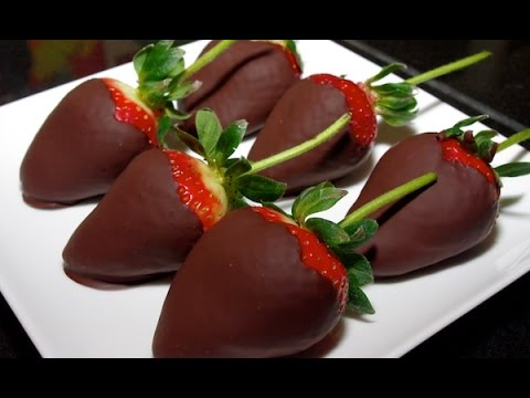 Chocolate Covered Strawberries | Easy Dessert Recipes | Healthy Recipes