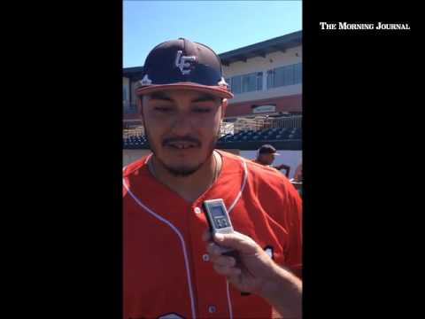 Lake Erie's Jose Barraza talks about the win against Florence on July 30.