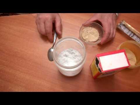 Как сделать зубной порошок в домашних условиях
