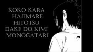 Download Video Kimi Monogatari - Noriaki Sugiyama Sasuke Uchiha) Lyrics On Screen MP3 3GP MP4
