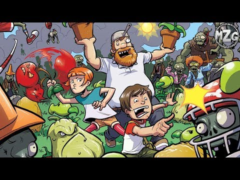 Plants Vs. Zombies COMIC BOOK!? - PvZ Comic Read-along! - Lawnmageddon Issue #1