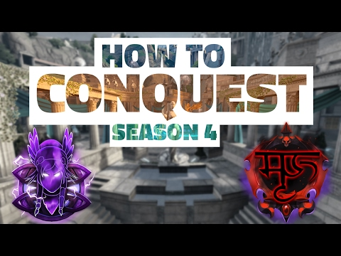 How To SMITE Conquest in Season 4 (/w Mask) | Map & Item Starts Guide