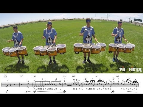 "2018  Blue Knights Tenors - LEARN THE MUSIC to ""Fall and Rise"""