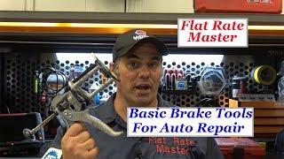 Basic Brake Tools For Auto Repair
