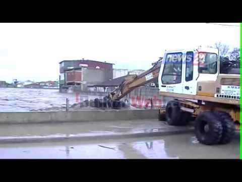 Përmbytje në Fushë-Krujë, pamje pa koment
