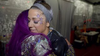 Go backstage with WWE's female duos at Elimination Chamber: WWE Day Of