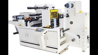 Automatic registration system during label die cutting