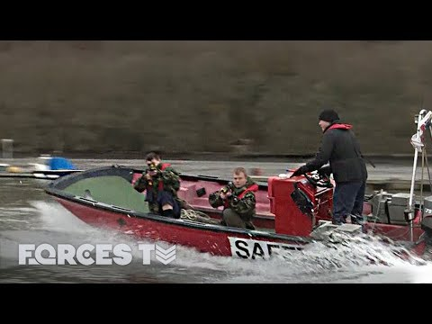 What Happens When Locals Get Involved In A Royal Navy Exercise | Forces TV