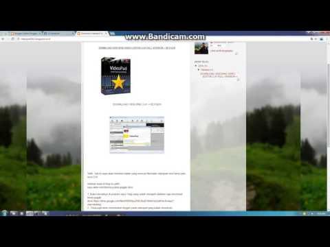 TUTORIAL DOWNLOAD VIDEOPAD EDITOR VERSI 2 41