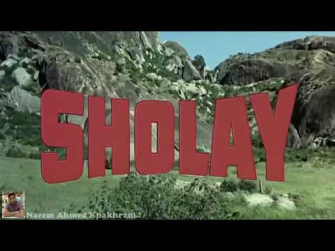 Title Music  Sholay  HD 720p