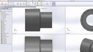 1 Урок. Вводный урок по SolidWorks 2013 SP5.0.(Урок 1. В данном уроке, Вы познакомитесь с системой 3Д моделирования SolidWorks. Рассмотрены начальные элементы..., 2015-06-04T19:38:13.000Z)