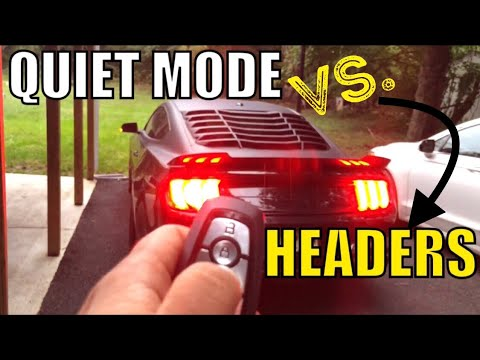 Shhh! Starting Open Headers 2018 Mustang at 7am in Quiet Mode...