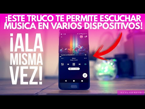 ¡Este Truco Te Permite Escuchar MUSICA En Varios Dispositivos A La MISMA VEZ!|•ByAleDroid