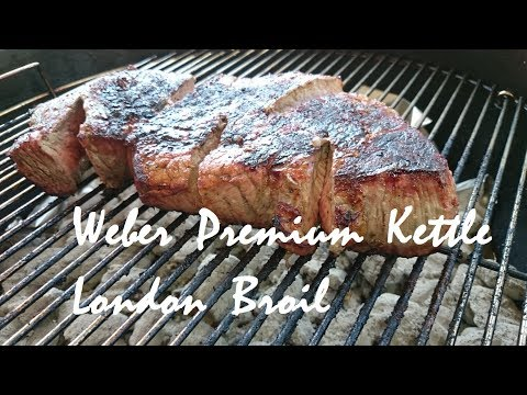 Weber Premium Kettle Grilled London Broil