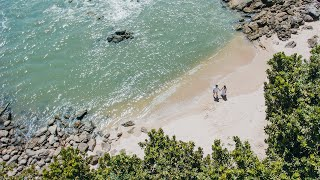 Save the Date Raiane e Felipe | Praia de Iporanga | Guarujá - São Paulo