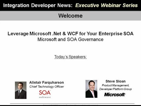 Leverage Microsoft .NET and WCF for Your Enterprise SOA
