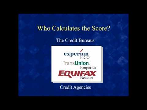 Official Free Credit Report - What's the Score? Part 2