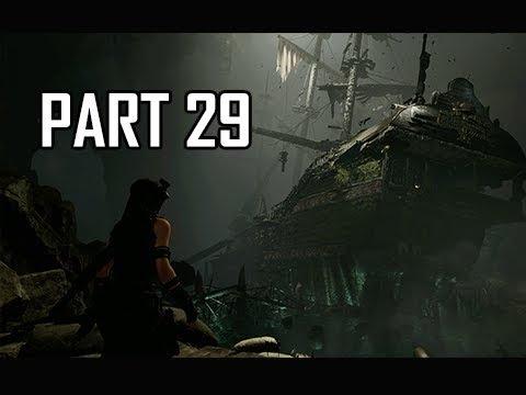 Shadow Of The Tomb Raider Walkthrough Part 29 Sunken Ship Let S