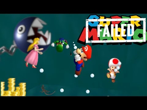 Super Mario 64 Multiplayer But The Princess Doesn't Get Saved 💀
