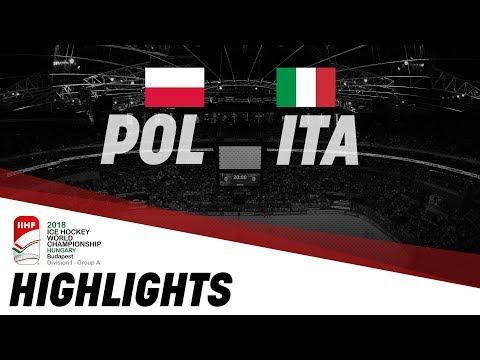Poland - Italy | Highlights | 2018 IIHF Ice Hockey World Championship Division I Group A