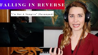 "Falling In Reverse ""I'm Not A Vampire"" (Revamped) REACTION & ANALYSIS by Vocal Coach/Opera Singer"