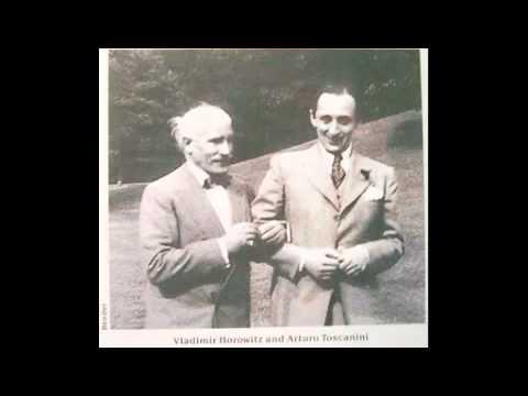 Brahms Piano Concerto n2 op.83 - Horowitz - Toscanini - NBC - unpublished Live rec. 1945