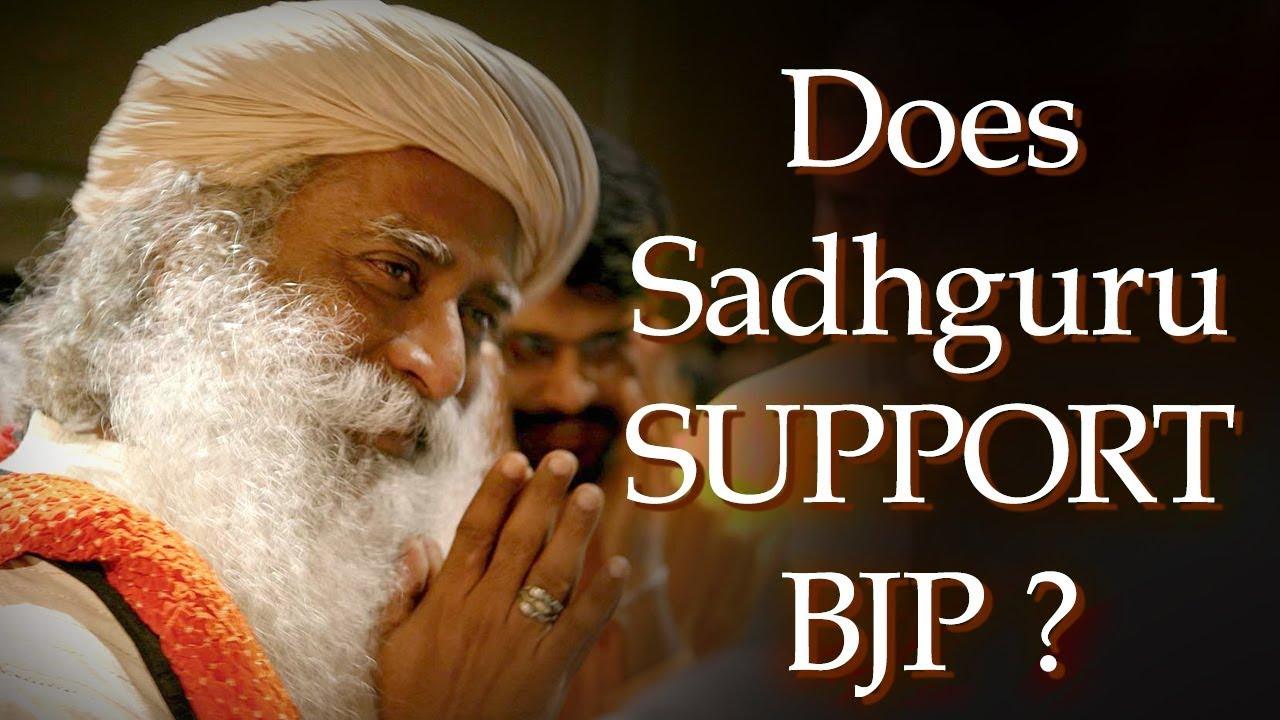 Does Sadhguru Support BJP? - क्या कहा सद्गुरु ने नरेंद्र मोदी के समर्थन पर ! - Spiritual Life
