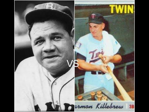 Harmo Killebrew vs Babe ruth MLB The Show 18 Home run derby