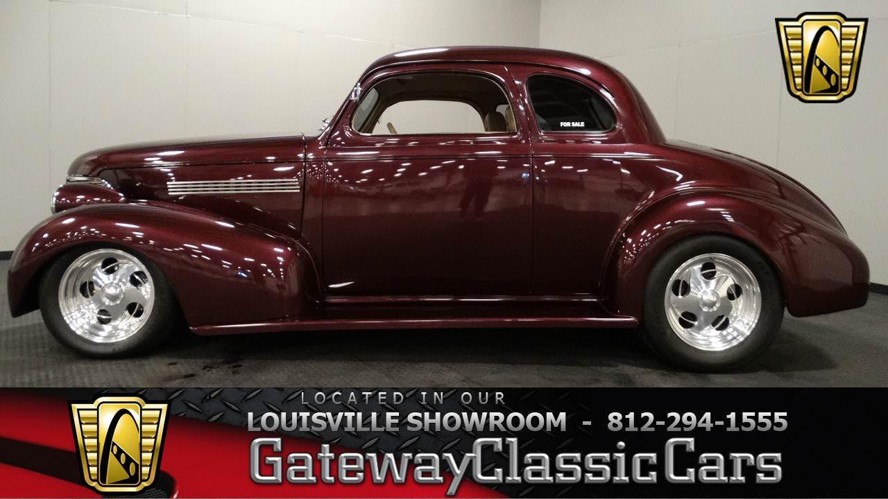 1939 Chevrolet Coupe Louisville Showroom Stock 1044