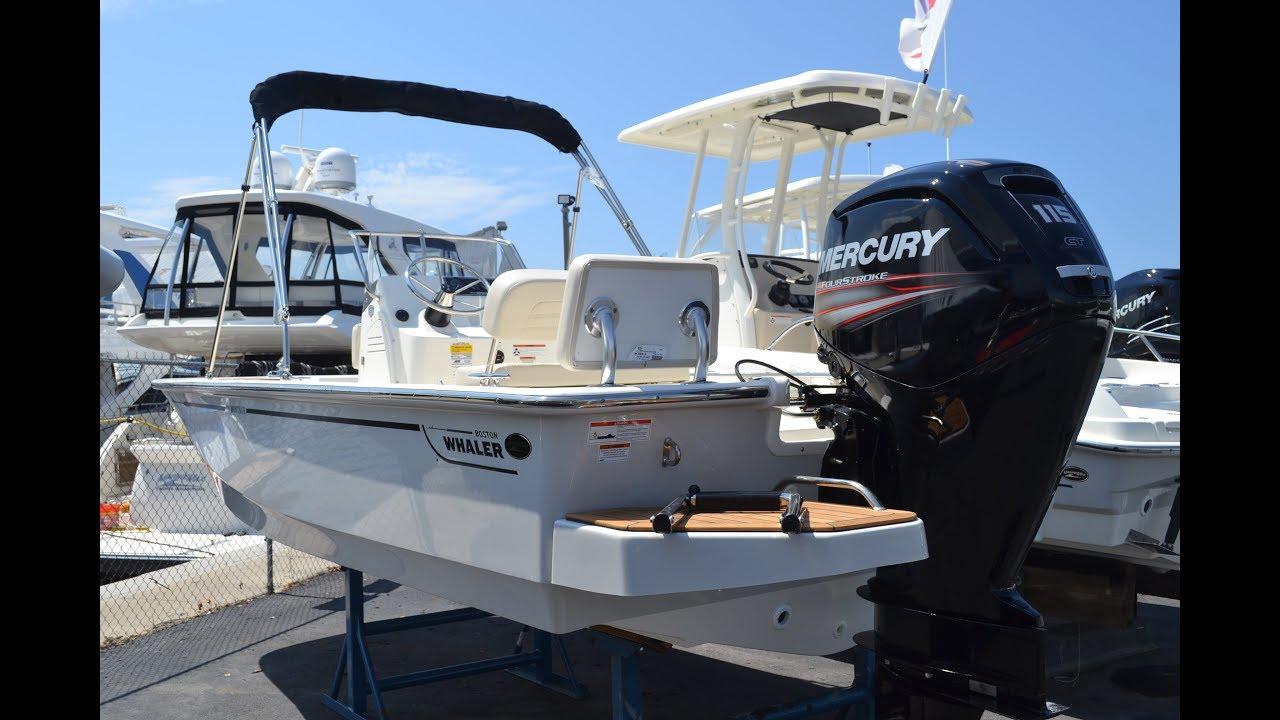 2018 Boston Whaler 170 Montauk 60th Anniversary Model For Sale at MarineMax  Naples Yacht Center