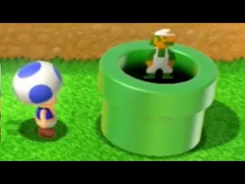 Super Mario 3D World - All Hidden Luigi Locations