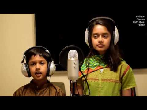 Kannukkul Pothivaippen Song By Varshitha and Varun - CMF Music Factory