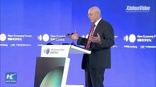 Hank Paulson addresses New Economy Forum in Beijing