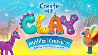 How to Make Clay Mythical Creatures | Unicorn, Dragon and Phoenix | Craft & Play