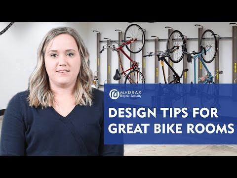 Bike Room Design Tips | Madrax Commercial Bike Racks