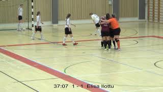 Naisten futsal-liiga 2018-2019 / Ylöjärven Ilves vs. AC Estudiantes maalikooste 15.12.2018
