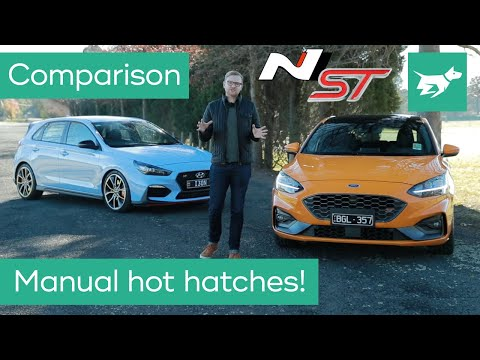 Ford Focus St Vs Hyundai I30 N 2020 Comparison Review Youtube