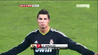 Cristiano Ronaldo Free Kick vs. Zaragoza - 720p HD Quality!