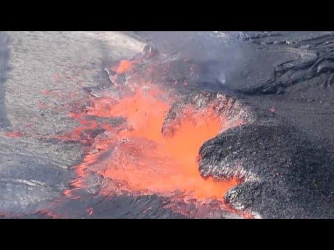 Earthquakes near Kilauea