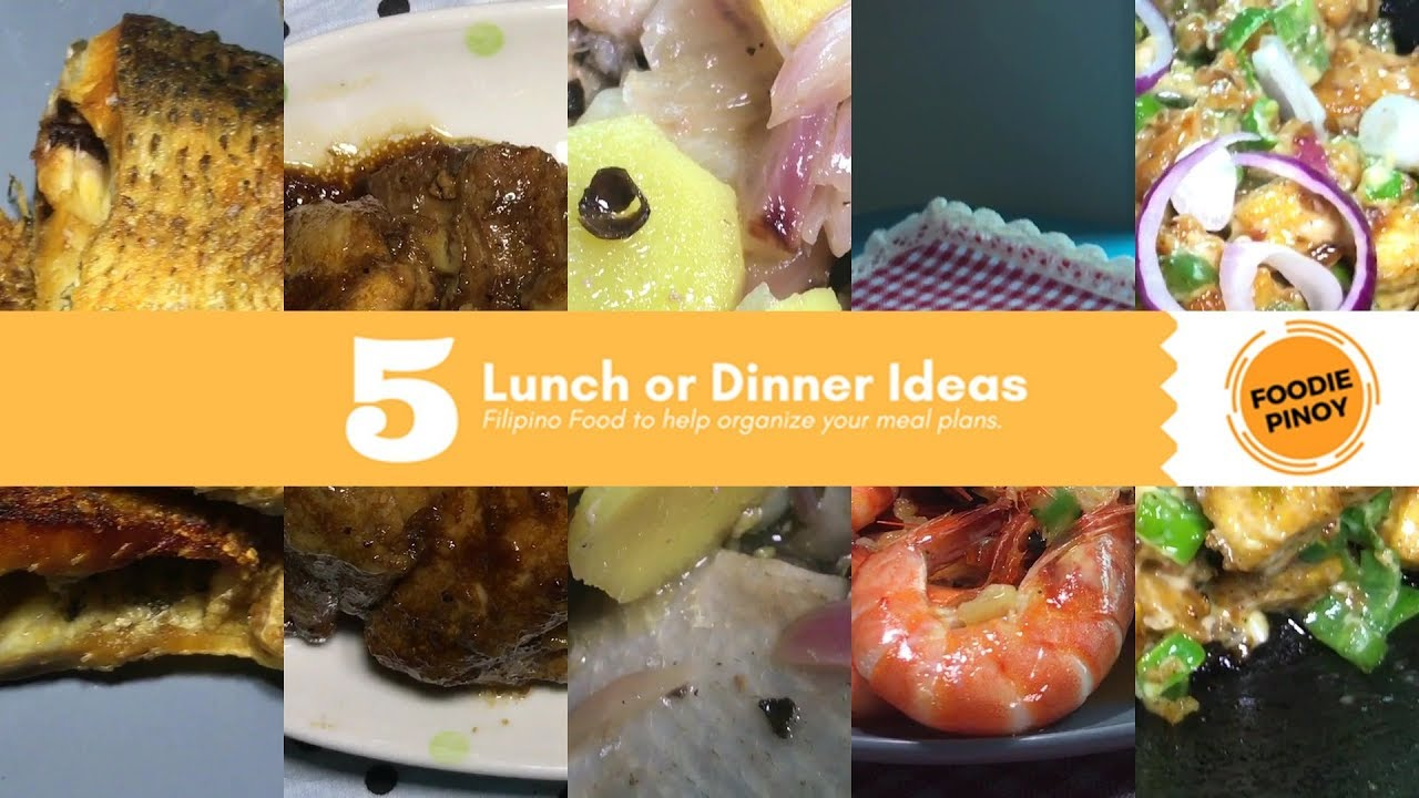 5 Day Lunch Or Dinner Ideas Part 2