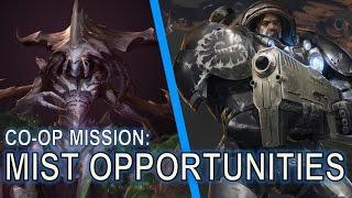 Starcraft 2 Co Op Mission: Mist Opportunities [Zagara bug]