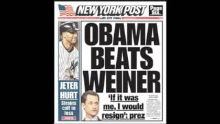 NY Post Headlines of A Weiner