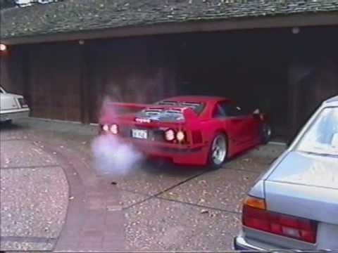 My Ride in a Ferrari F40
