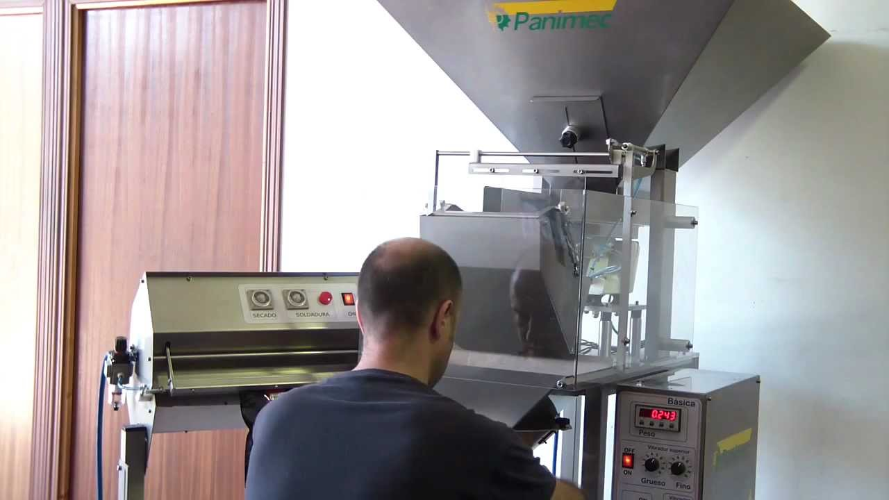 Dosificador Para Granos: Envasadora Cafe Panimec