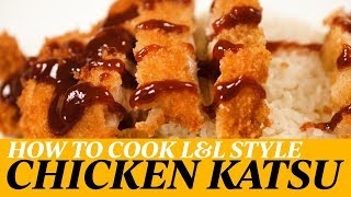 How To Cook Chicken Katsu L L Hawaiian Style Youtube