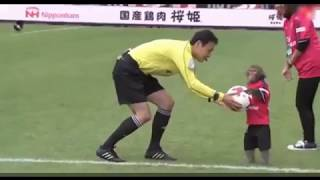 MONKEY MASCOT TAKES CENTER STAGE AHEAD OF J-LEAGUE MATCH